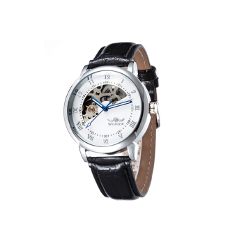 Harga Fully automatic mechanical fashion watches white