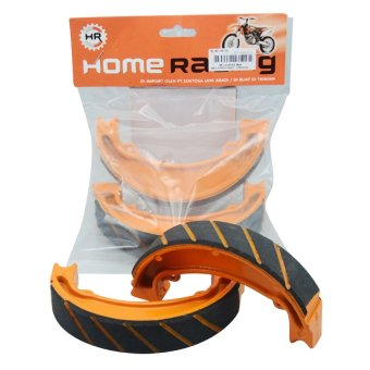 Home Racing Kampas Rem Megapro Vario -Orange .