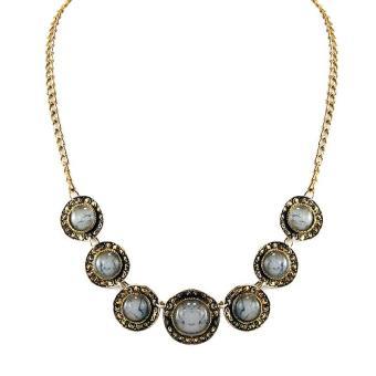 ... Modern Necklace Accessories Panjang 57 Cm - Silver. Source · Ofashion Aksesoris Kalung XX-CA-1705k079 Xuping Jewelry Necklace Accessories - Emas Putih