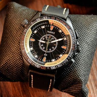 YAZOLE Vintage Men Stainless SteelBand Fashion Sport Bussiness Quartz Wrist Watch YZL333H-