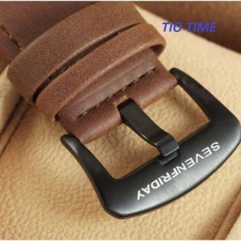 Galeri Produk jam tangan pria sevenfriday sfy 3435 leather strap design elegan&simple .
