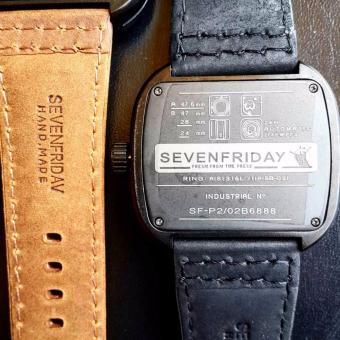 ... Jam Tangan Pria Sevenfriday Sfy 3435 Leather Strap Design Elegan&simple Page 2 Daftar Harga