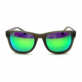 Kalibre Eyewear Kacamata Pantai Beach Fashion Sunglasses Anti UV Anti Silau Polarized Green Lens 996086-