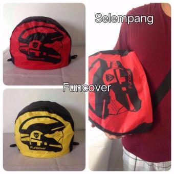 Detail Gambar RainCoat Helm COVER HELM anti air Jas Hujan Tas Helm Sarung HELM Motor Funcover