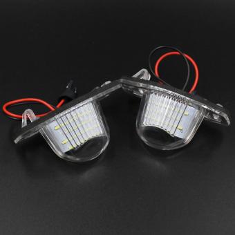 2x 18 LED 3528 SMD Number License Plate Light For Honda CR-V Jazz Crosstour