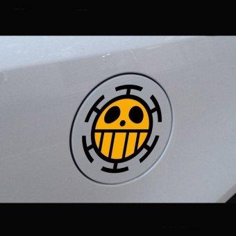 Car sticker Fuel tank decal skin one piece classical anime 12cm - 2