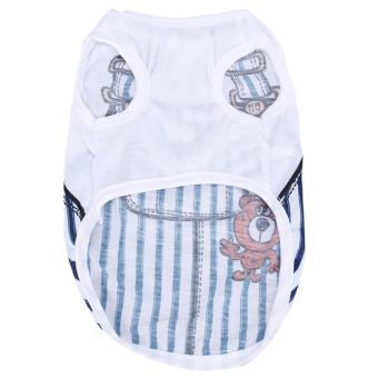 Vest Source New Super Cute Pet Clothes T Shirt Lovely Sweetheart Dog Small .