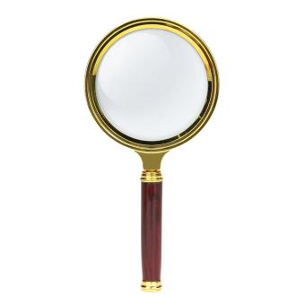 60mm Handheld 10X Magnifier Glass Loupe for Reading Jewelry - intl ...
