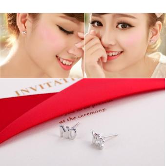 Hequ Mini Bintang Tiga Telinga Kancing Berlapis Perak Anting Anting Source · Fashion baru sahaja 925 Silver adapula ya dan tidak Mini hadiah anting tindik