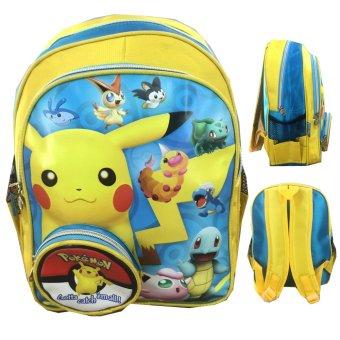 3d Timbul Tas Ransel Sekolah Source · BGC Pokemon Go Pikachu And Friends .