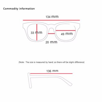 Oulaiou Fashion Accessories Anti-fatigue Trendy Eyewear Reading Glasses OJ619 - intl .