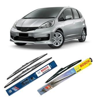 """Bosch Wiper Advantage Depan & Belakang Mobil Honda Jazz Set 26"""" ..."""