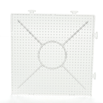 Harga Square Round Hexagon Pegboards Transparent For 5mm Hama Beads DIY Kids Toy Square - intl