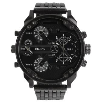 Swiss Army Analog Jam Tangan Pria Silver Hitam Strap Rantai 1475m Source · Allwin Oulm Men s 2 Movement Big Dial Stainless Steel Strap Sports Wrist Watch ...