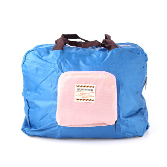 Harga Emyli Korean Foldable Street Shopper Bag Biru