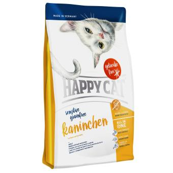 Harga Happy Cat Sensitive Grainfree Rabbit 0.3 Kg