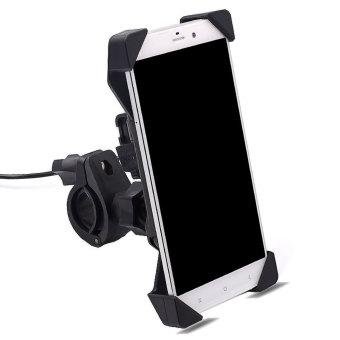 BolehDeals Ponsel GPS Sepeda Motor Gunung Piala Suction USB Handphone Charger Pemegang Magnetik - 2 .