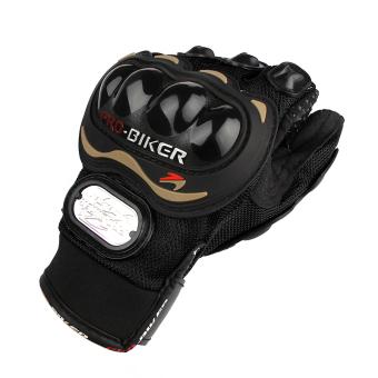 Fashion Lengkap sepeda motor tahan lama jari sarung tangan bersepeda Balap Sepeda olahraga .