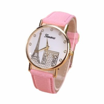 Harga Paroparoshop Paris Watch - Pink