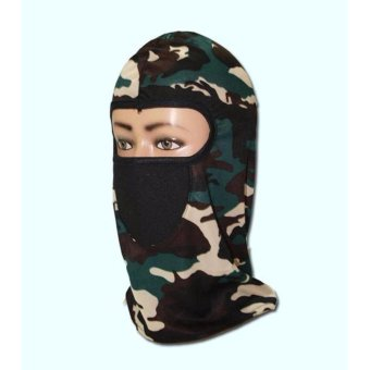 Harga Masker Full Face Motif Tengkorak Hitam Terbaru 2017 MTIRC .