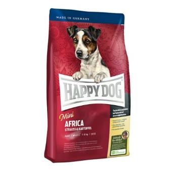 Harga Happy Dog Supreme Mini - Mini Adult Africa with Ostrich & Potato 1 Kg