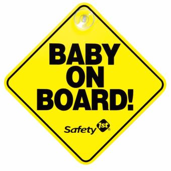 Harga PVC Car Sign BABY ON BOARD