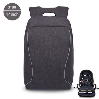 Harga Tigernu Anti-Theft Casual 14 Inches Laptop Backpack for 10-14 Inches Laptop(Dark Grey)