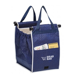 Harga AIUEO- Grab Bag - Kantong Belanja Serbaguna - Grab Bag Single 1 Pcs - Biru