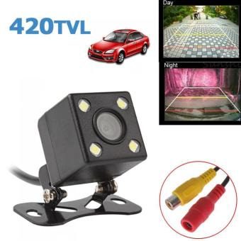 Harga Universal 420 TV Lines Night Vision Rear View Camera 170 Degrees Wide Angle Lens