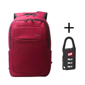 Harga 2017 Tigernu Mochila for Laptop 14.1-15.6Inch Notebook Computer Bags Men Backpack T-B3090 (Red) - intl