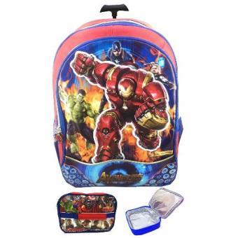 Ransel Anak Sekolah Tk. Spiderman Source THOR SUPERMAN Source BGC Avenger Hulk .