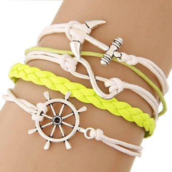Harga Cannice Gelang Vintage Korea Yellow Wheel