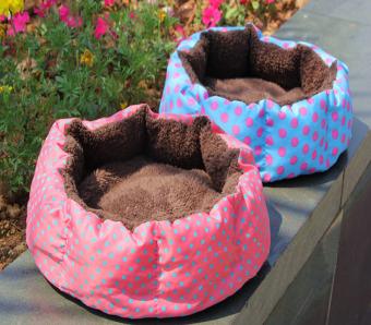 Pet Anak Anjing Kucing Bulu Tambahan Bantal Mewah Bantalan Rumah Sarang Nyaman Tikar .
