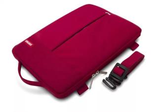 """POFOKO 13.3"""" Coolbeen Series Tas Laptop Waterproof Shockproof Sleeve Macbook - Merah"""