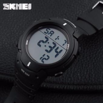 Skmei 1068 Tahan Air Digital Memimpin Pria Jam Tangan Olahraga Hitam Source · SKMEI 1068 jam