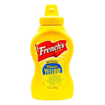Harga French's Squeeze American Favorite Mustard - 226 gr