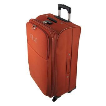 """ELLE TSA 55825 Koper 25"""" + 53762 Backpack - Orange ."""