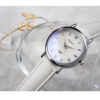 YAZOLE Classical Women Leather Band Fashion Joker Bussiness Quartz Wrist Watch YZL278 B .