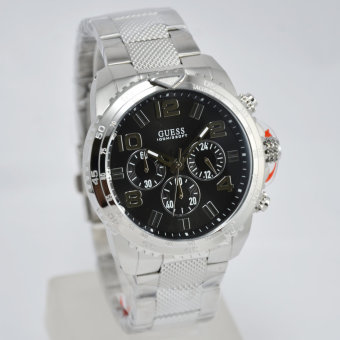 Guess W0598G2 Velocity - Jam Tangan Pria - Stainless Steel - Chronograph - Guess Watch .