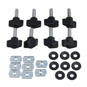 Fastener Thumb Screw with Nut for Jeep Wrangler Set of 8 Black - intl ...