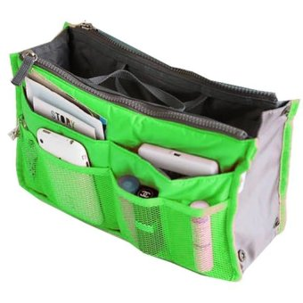 Harga Rafa Korean dual bag / Organizer Double Resleting - Hijau
