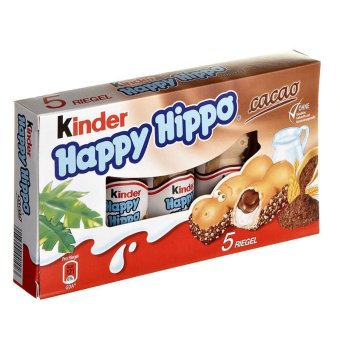 Harga Kinder Happy Hippo Chocolate