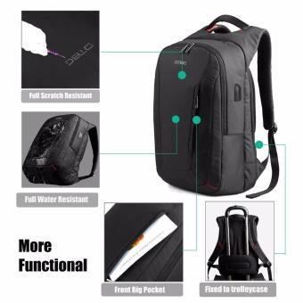 DTBG Business Travel Backpack Laptop Bag D8205W 15.6 Inch - Hitam - 5 .