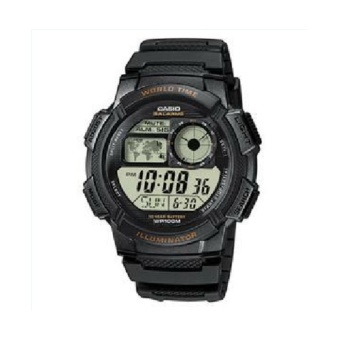 Harga Casio AE-1000W-1A Original World Time