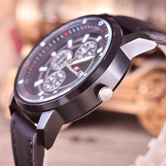 Raynell Jam Tangan Pria Body Black Black Dial Rny Krt 11099c Bb Source · Swiss Army
