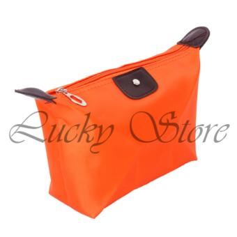 Harga Lucky - Tas Kosmetik Mini - Cosmetic Bag - Orange