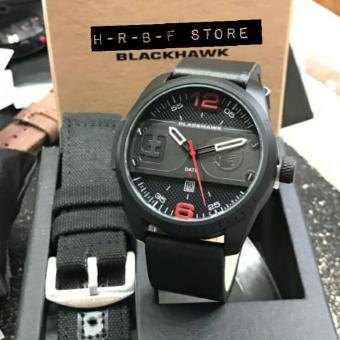 Harga jam tangannpria blac hawk full set 5560HR
