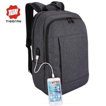 Harga 2017 Tigernu Anti-thief Backpack for 12-17inches Laptop With External USB Charging Port3142 - intl