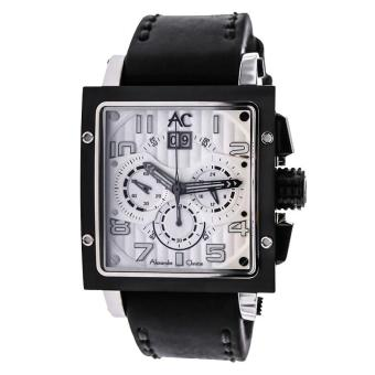 Harga Alexandre Christie ACF-6195-MCLTBSLBA Pria Leather - Black
