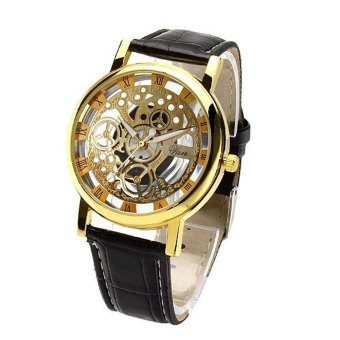 Harga Fashion mechanical watch Gift Unisex